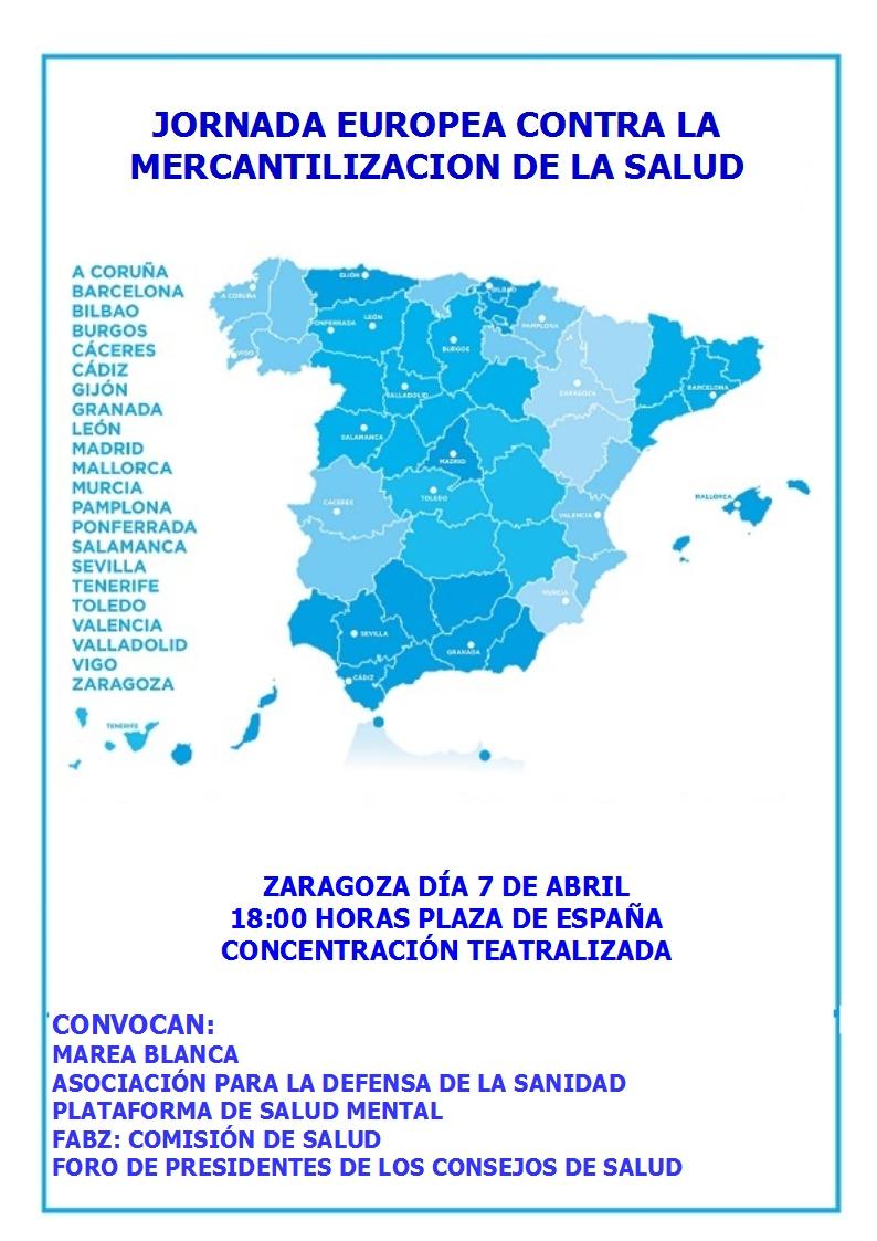 ADSPA CONTRA LA MERCANTILIZACIÓN DE LA SANIDAD 2