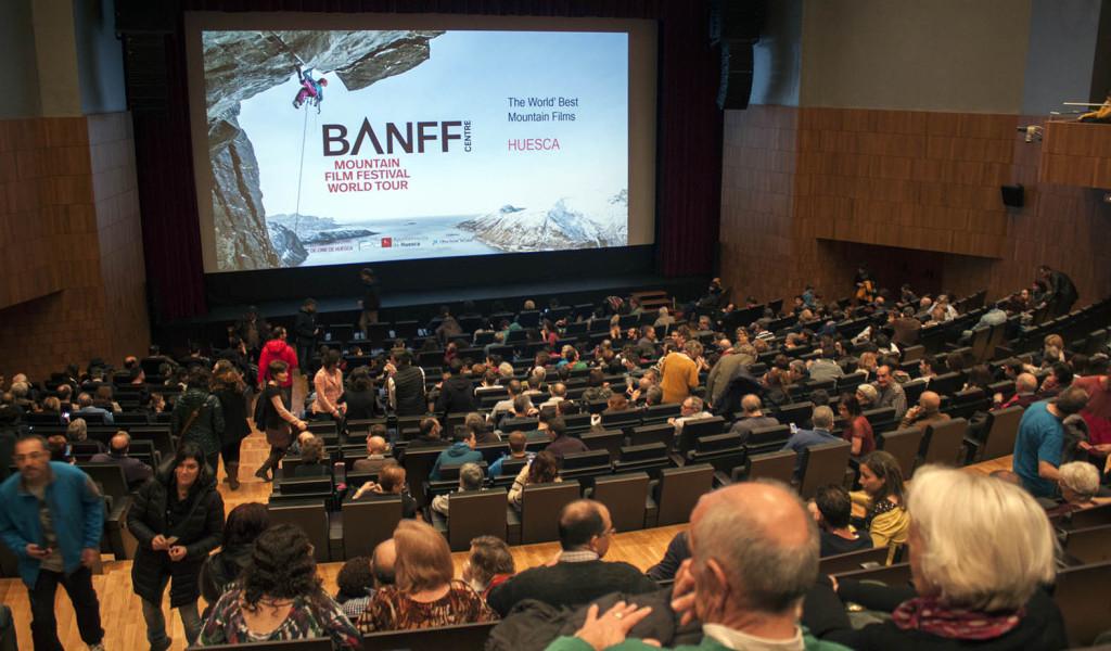 El BANFF Mountain Film Festival del Alto Aragón crece un 42% superando las 5.700 personas asistentes