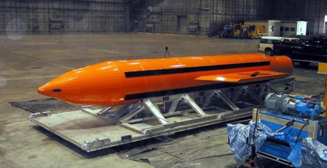 EEUU lanza sobre Afganistán la bomba no nuclear más potente jamás creada