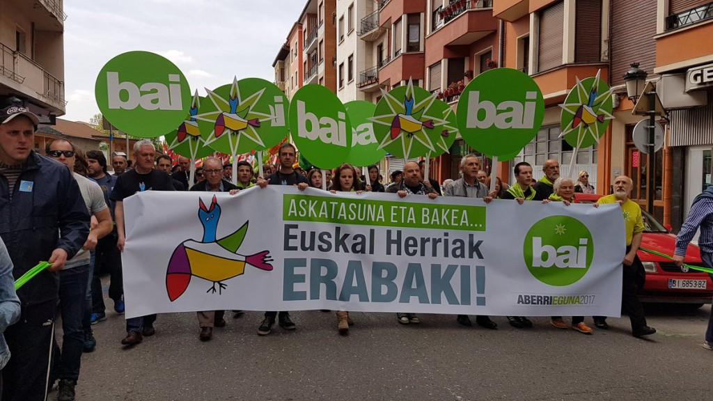 La república vasca como reivindicación en el Aberri Eguna