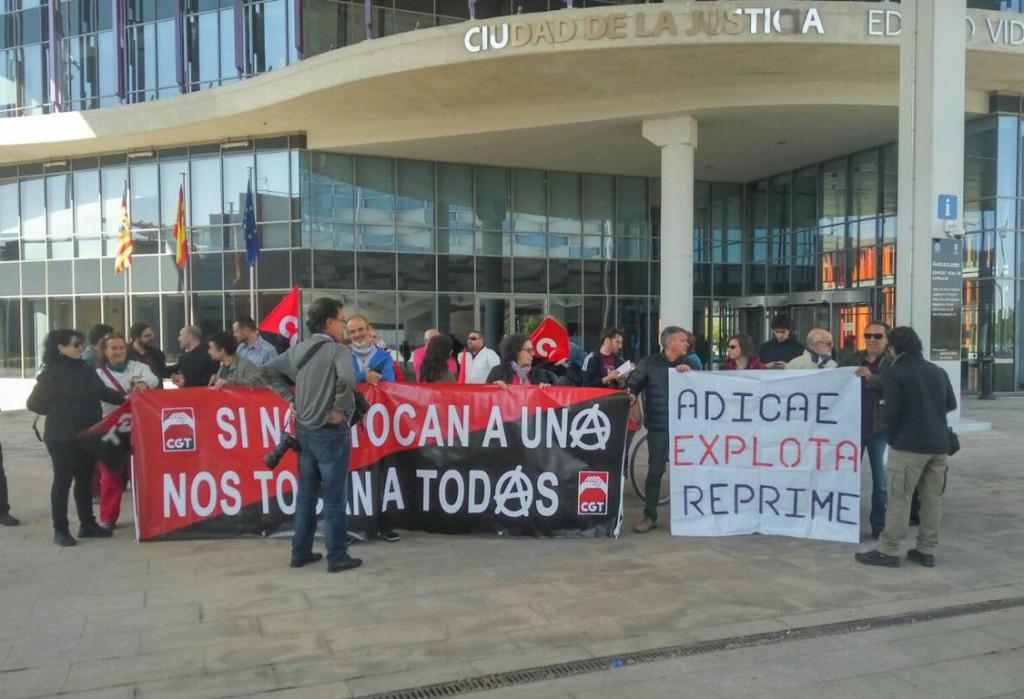 El sindicato CGT denuncia la actitud de ADICAE hacia sus trabajadores