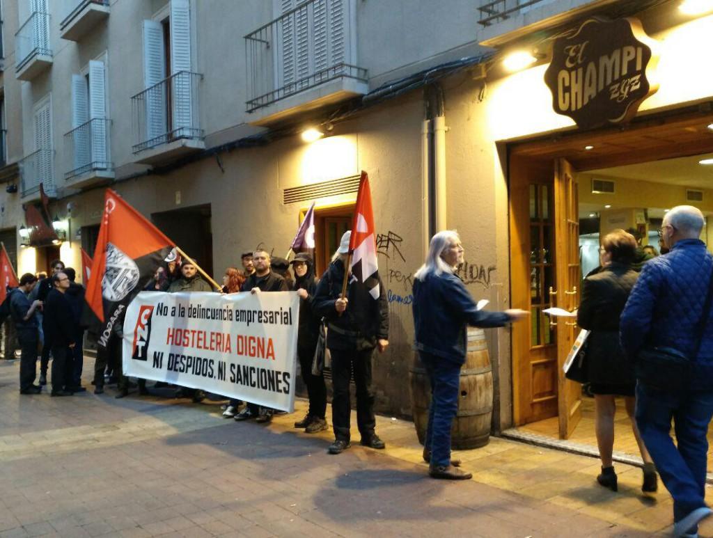 CNT se manifestará por El Tubo en plena Semana Santa