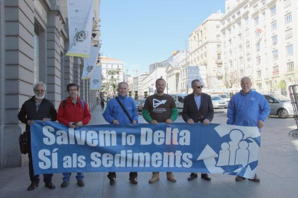La Campanya pels Sediments llega al Congreso para defender el delta del Ebro y toda su cuenca