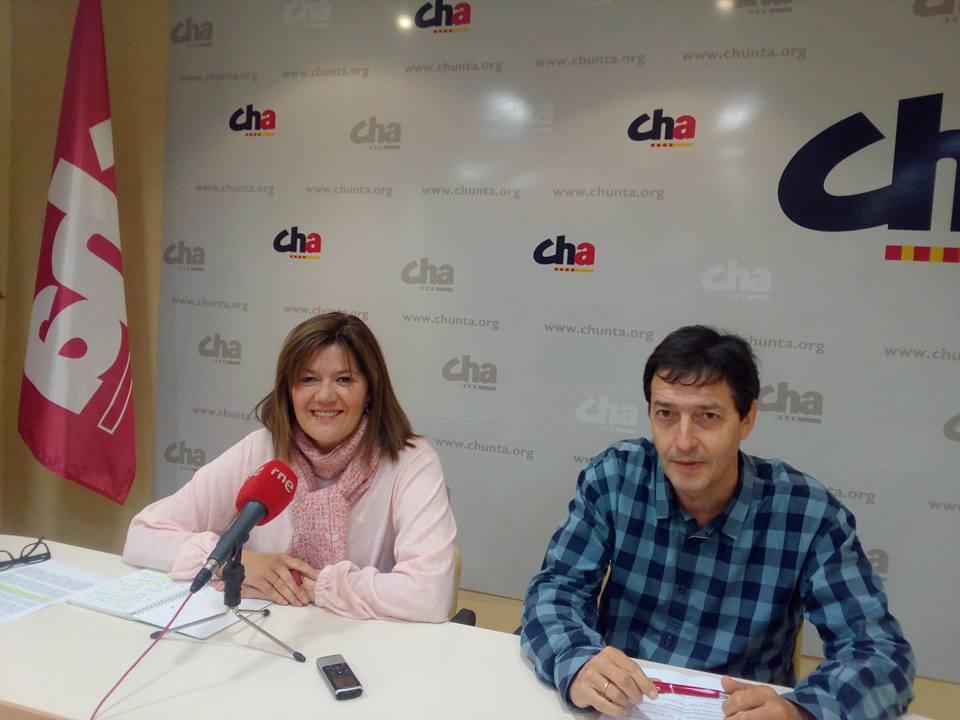 CHA lleva a las Cortes de Aragón la exigencia de un plan de restitución territorial para Almudébar