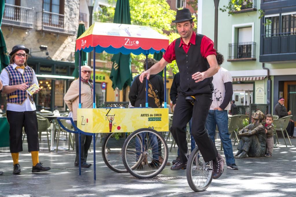 Zaragoza se convierte durante el mes de mayo en la capital del circo