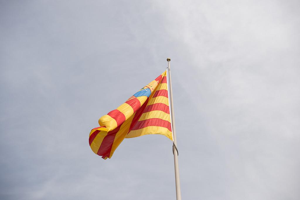 A la bandera de Aragón