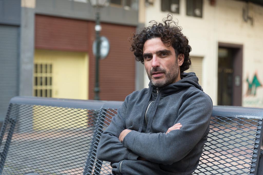 """David Arribas: """"La ciudad nos dejaba desnudos ante el tráfico y entonces nació la Ciclonudista"""""""