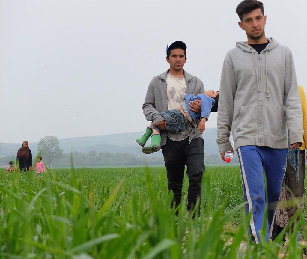 'La huida invisible', exposición solidaria que muestra el drama de las personas refugiadas