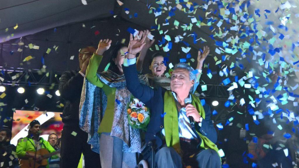 Lenín Moreno vence en las presidenciales y se convierte en el nuevo presidente de Ecuador
