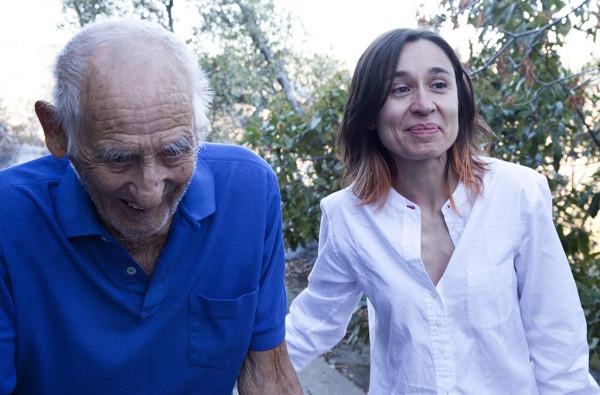Marina Garde y Elmer Berg, el último brigadista.