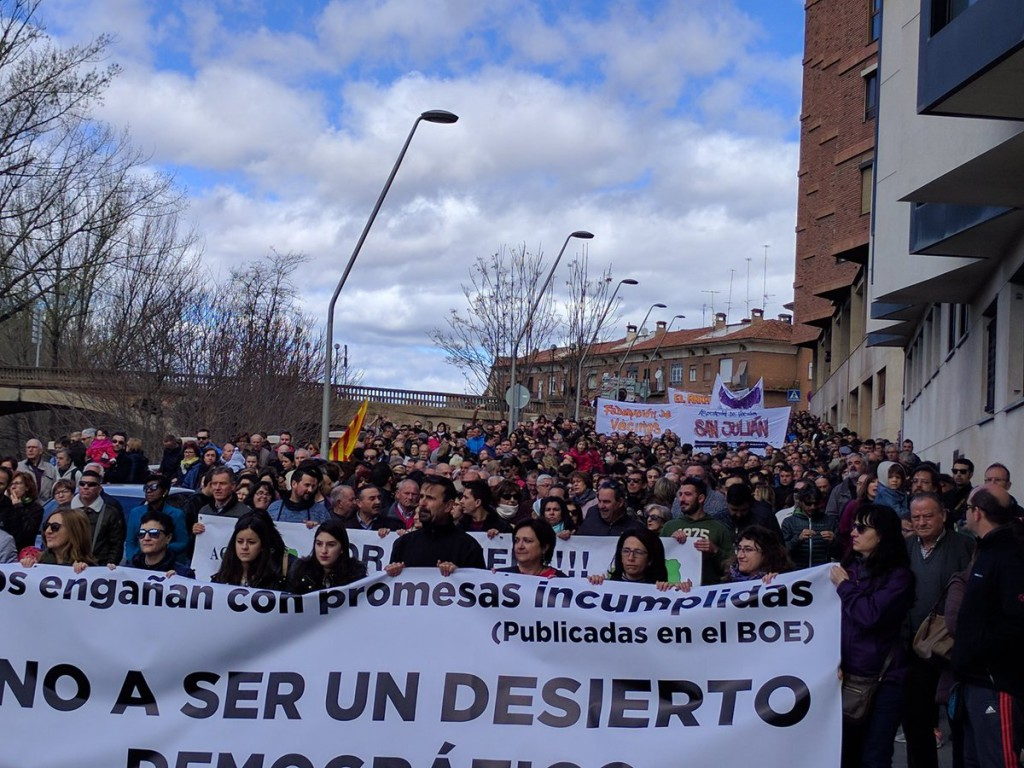 Aragón muere por el sur, un grito turolense contra el olvido