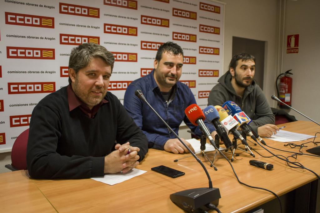 Los sindicatos protestarán por el convenio de hostelería frente al Salón Aragonés del Turismo