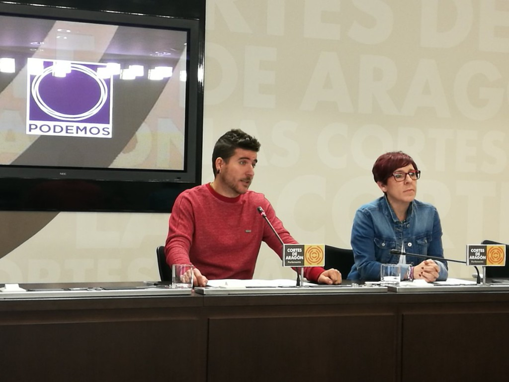 Podemos recuerda al Gobierno de Aragón el acuerdo de las Cortes para poner en marcha un banco de tierras público