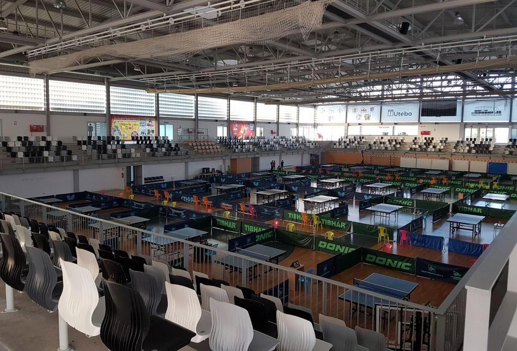 Utebo acoge el Circuito Jóvenes Zona Norte de Tenis de Mesa