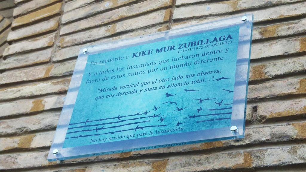 El Aragón Insumiso reivindica la continuidad de sus luchas y sueños en un emotivo homenaje en el CSO Kike Mur