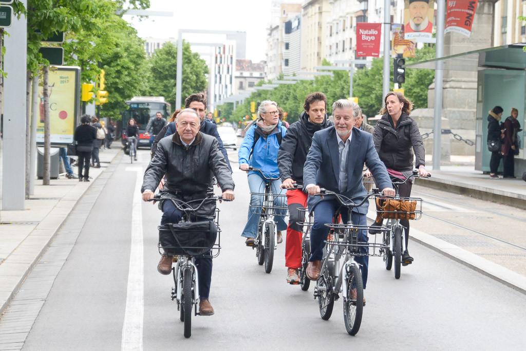 La reordenación del Paseo Sagasta priorizará al peatón, la bicicleta y el transporte público