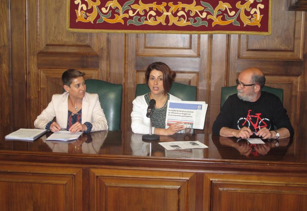 Los vecinos y vecinas de Teruel comienzan a finales de abril a definir los presupuestos participativos para 2018
