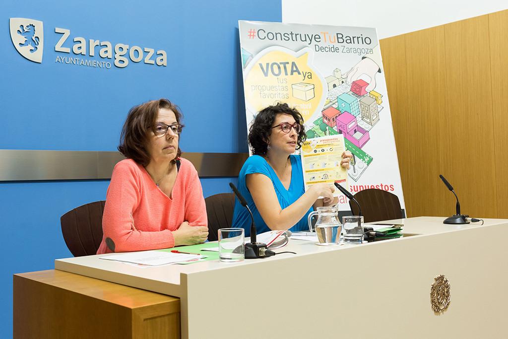 Un total de 212 propuestas han pasado a la votación final de los Presupuestos Participativos de Zaragoza