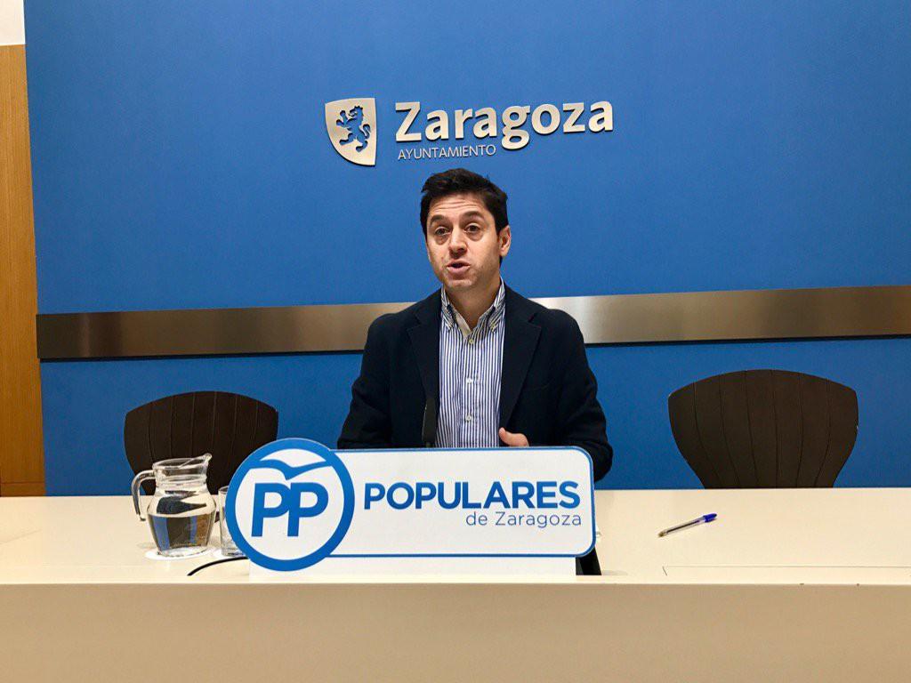 Sebastián Contín, concejal del PP en el Ayuntamiento de Zaragoza, omite en su declaración de bienes los rendimientos por arrendar una vivienda