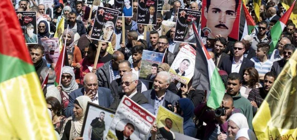 Palestina presos huelga de hambre