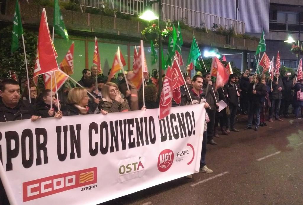 """Los sindicatos critican el """"cinismo"""" de la patronal hostelera zaragozana"""