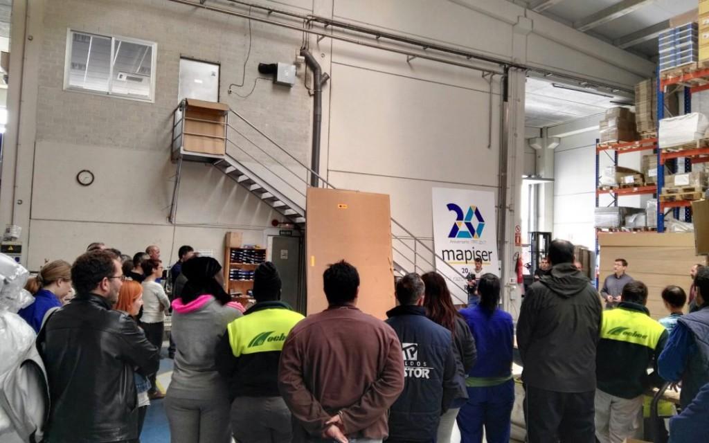 Los y las trabajadoras de Mapiser son las protagonistas del veinte aniversario de esta empresa de economía solidaria