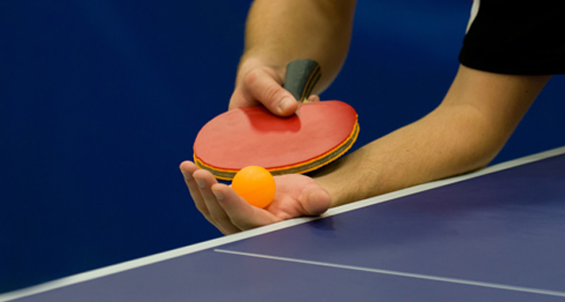Los conjuntos aragoneses de Primera División Estatal de tenis de mesa reciben al Titus Badalona