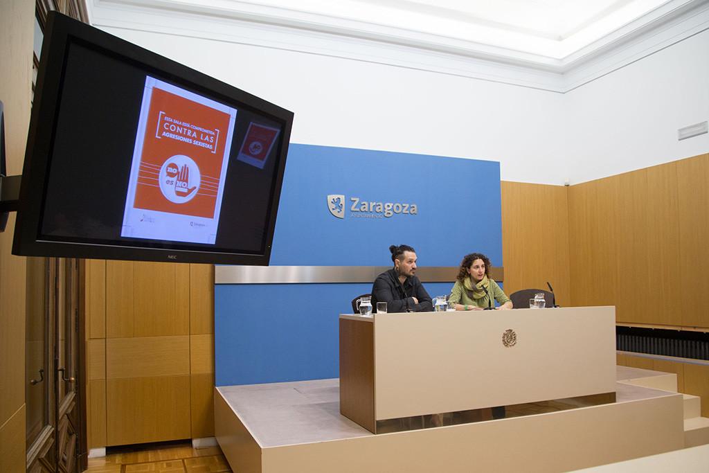 El Ayuntamiento y las salas de música de Zaragoza se unen para combatir las agresiones sexistas