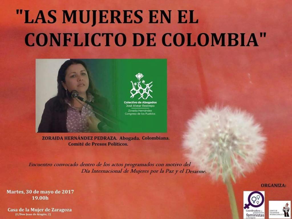 La Casa de la Mujer acoge la charla debate 'Mujeres en el conflicto de Colombia'
