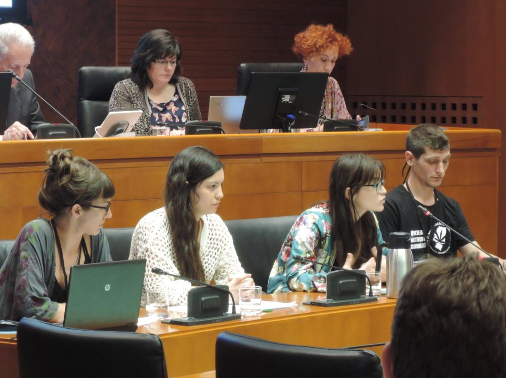 AraFac comparece ante las Cortes de Aragón para reclamar una regulación integral sobre los diversos usos del cannabis