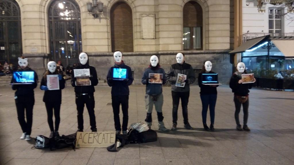 La Asamblea Antiespecista de Zaragoza se presenta este sábado en 'A Enrestida'