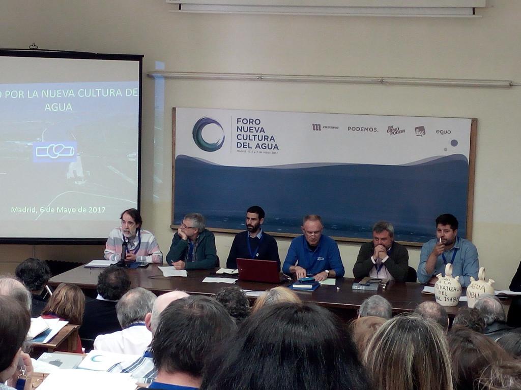 Coagret participa en el Foro Nueva Cultura del Agua celebrado en Madrid
