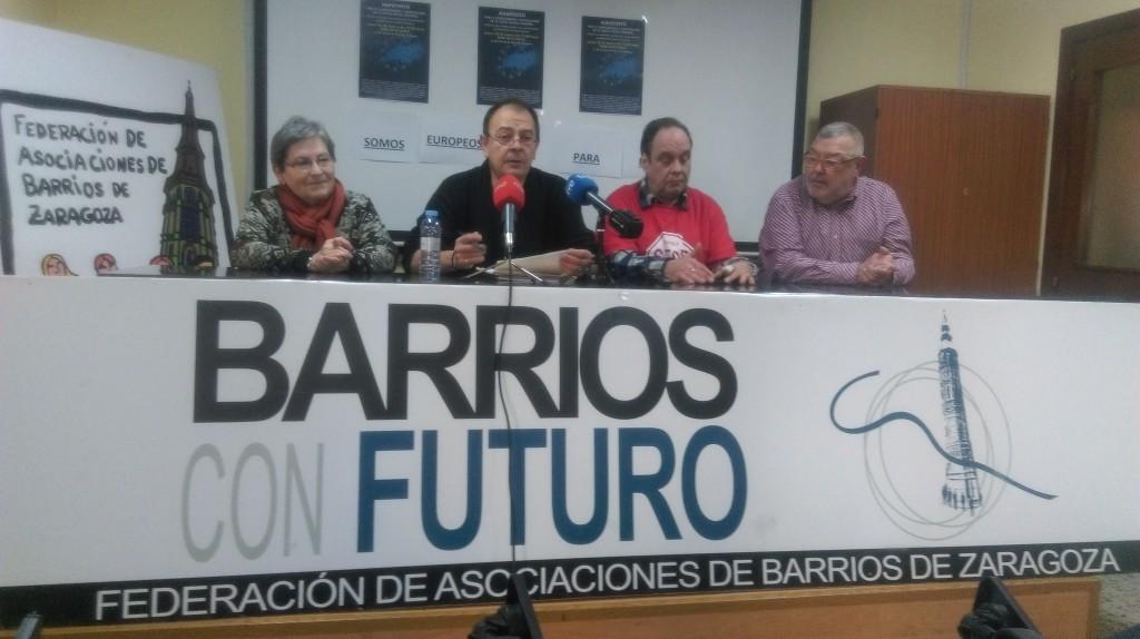 """Frente Cívico 'Somos Mayoría' reclama """"compromisos para que los aragoneses salgan de las estadísticas de pobreza y exclusión social"""""""