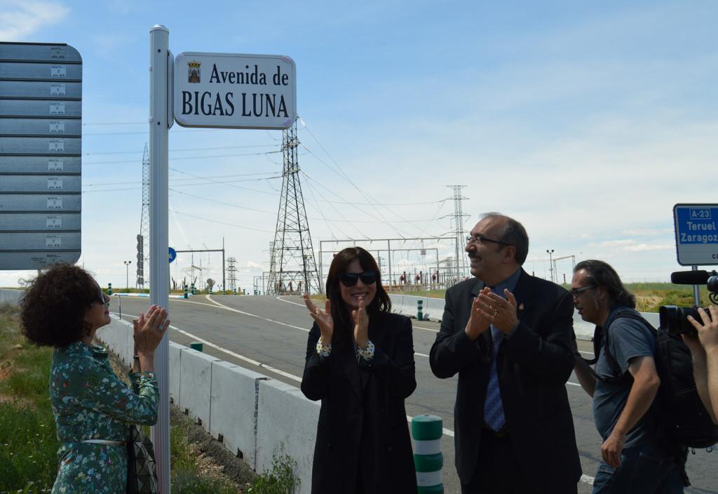 Calamocha rinde homenaje a Bigas Luna dándole su nombre a una avenida