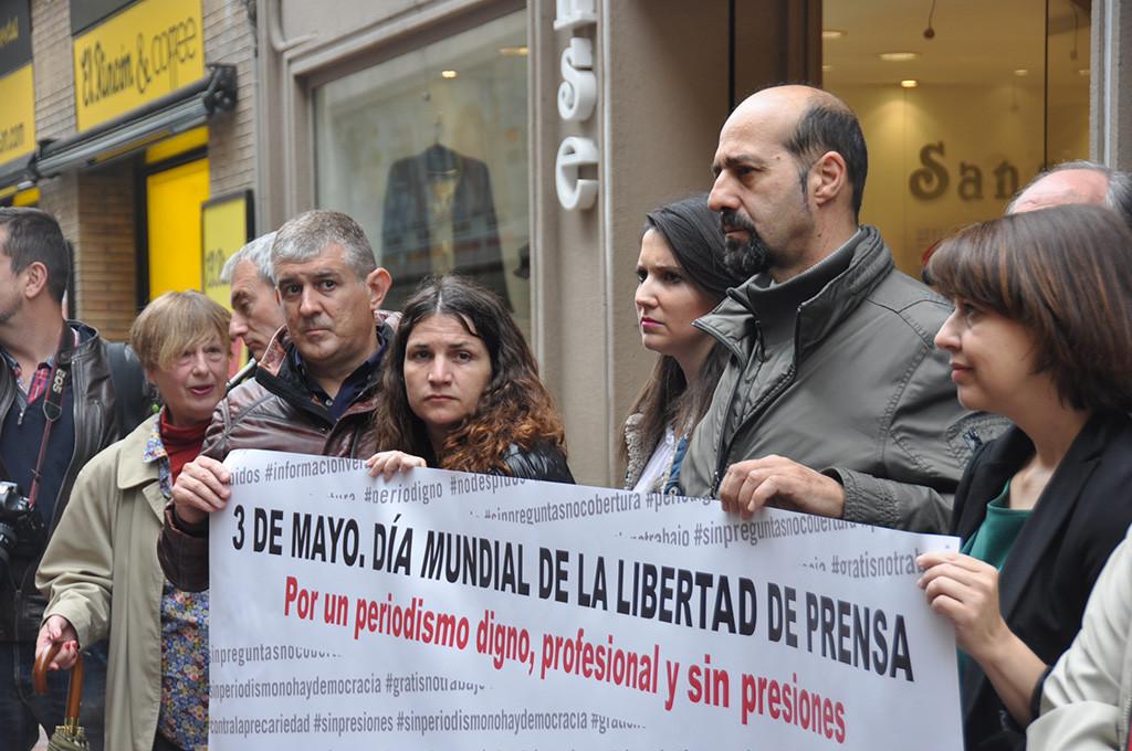 Periodistas de Aragón llaman a la ciudadanía a participar para defender el buen periodismo