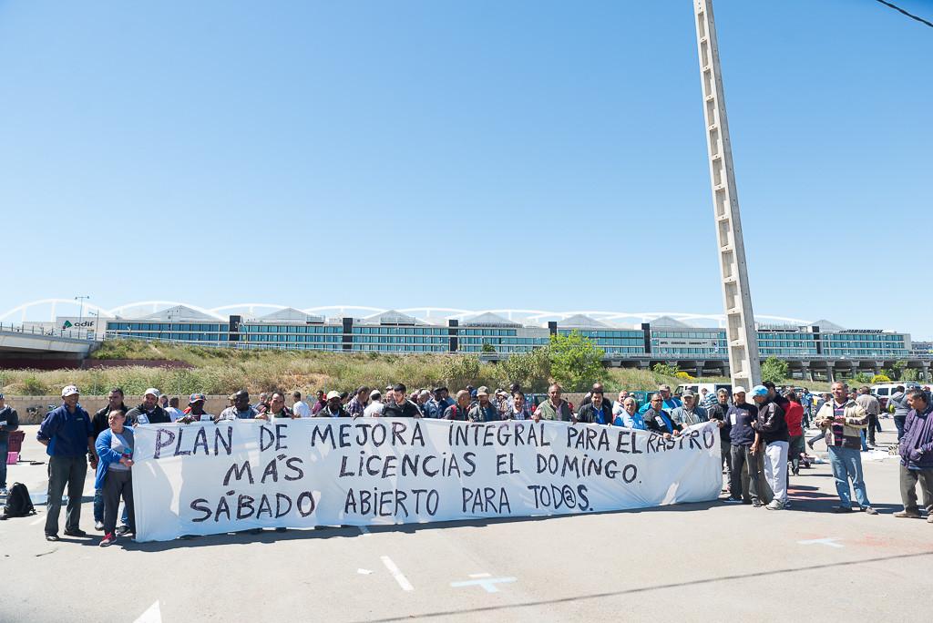 Abierta la licitación para 55 puestos en el Rastro de Zaragoza