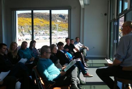 Técnicos del Gobierno de Aragón recogen en Escocia experiencias de éxito para luchar contra la despoblación