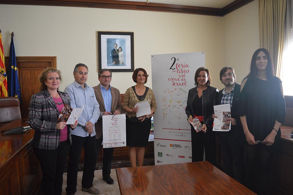 Más de 40 autores y 20 expositores protagonizarán la II Feria del Libro y el Cómic de Teruel