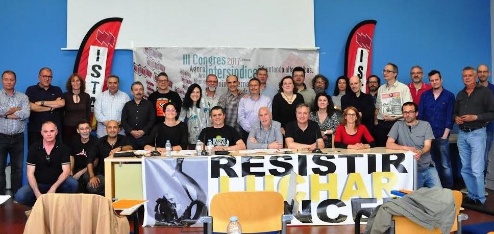 ISTA celebra su III Congreso bajo el lema 'Agora Intesindical. Chuntando Alternatibas'