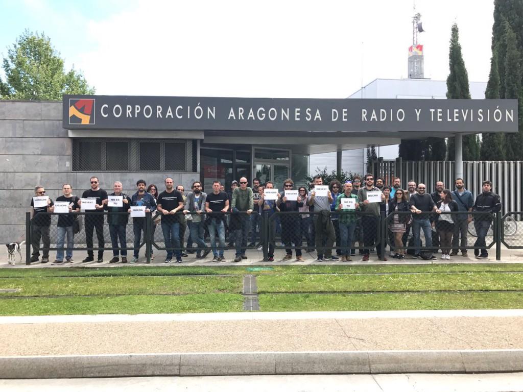 Desconvocada la huelga de los cámaras de programas de Aragón TV