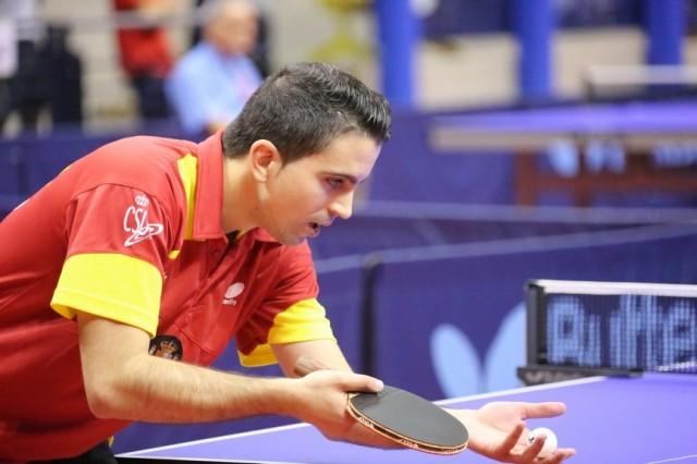 Jorge Cardona consigue el bronce en los Campeonatos de Europa de Tenis Mesa