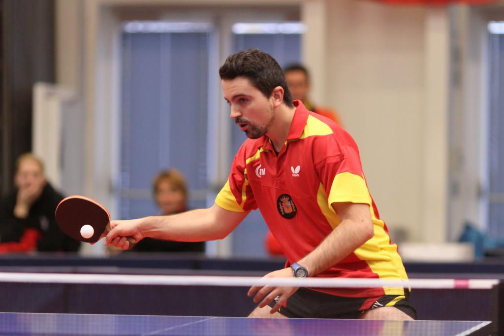 Jorge Cardona, jugador del Publimax CAI Santiago, participa en el 14th Slovenia Open
