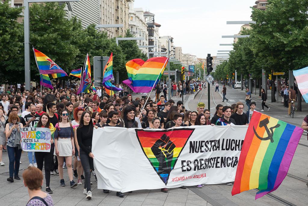 Aragón reconocerá por ley la igualdad de todas las personas y penalizará la discriminación por razón de orientación sexual o identidad de género