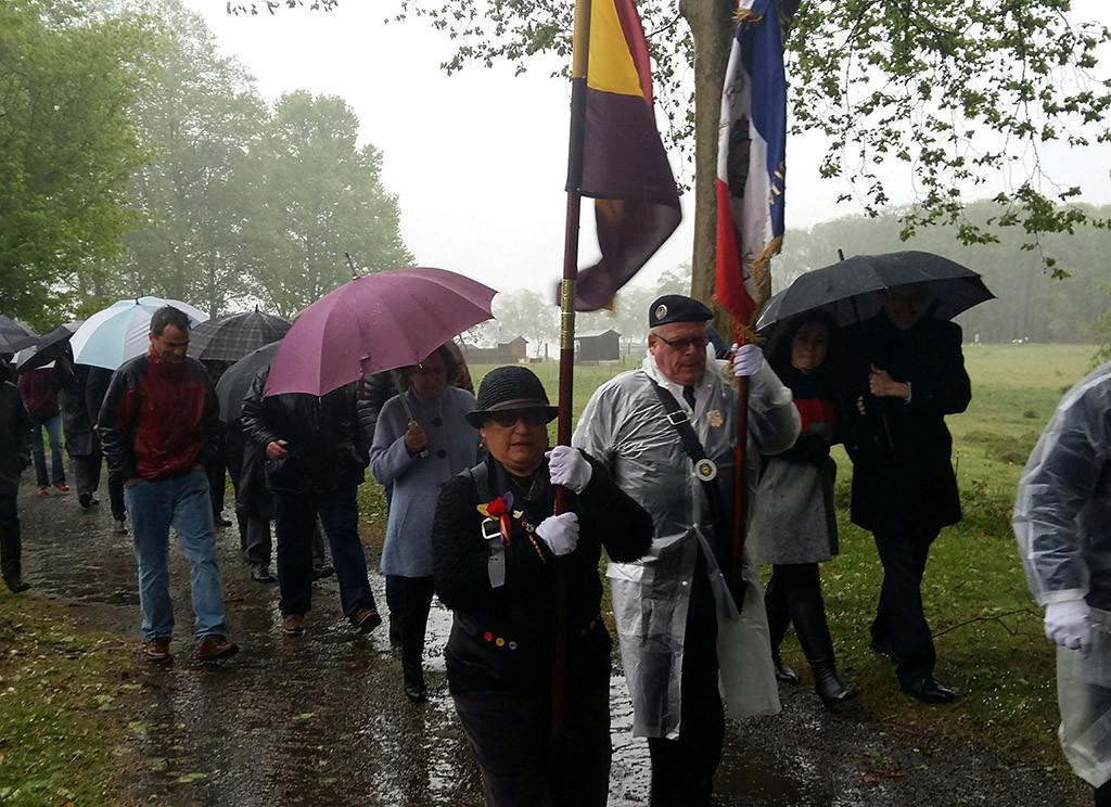 Una amplía delegación aragonesa participa en Oloron y Gurs en los actos por el Día de las Víctimas y los Héroes de la Deportación