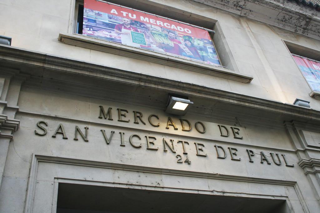 El mercado de San Vicente de Paúl de Zaragoza celebra el séptimo aniversario desde su reapertura