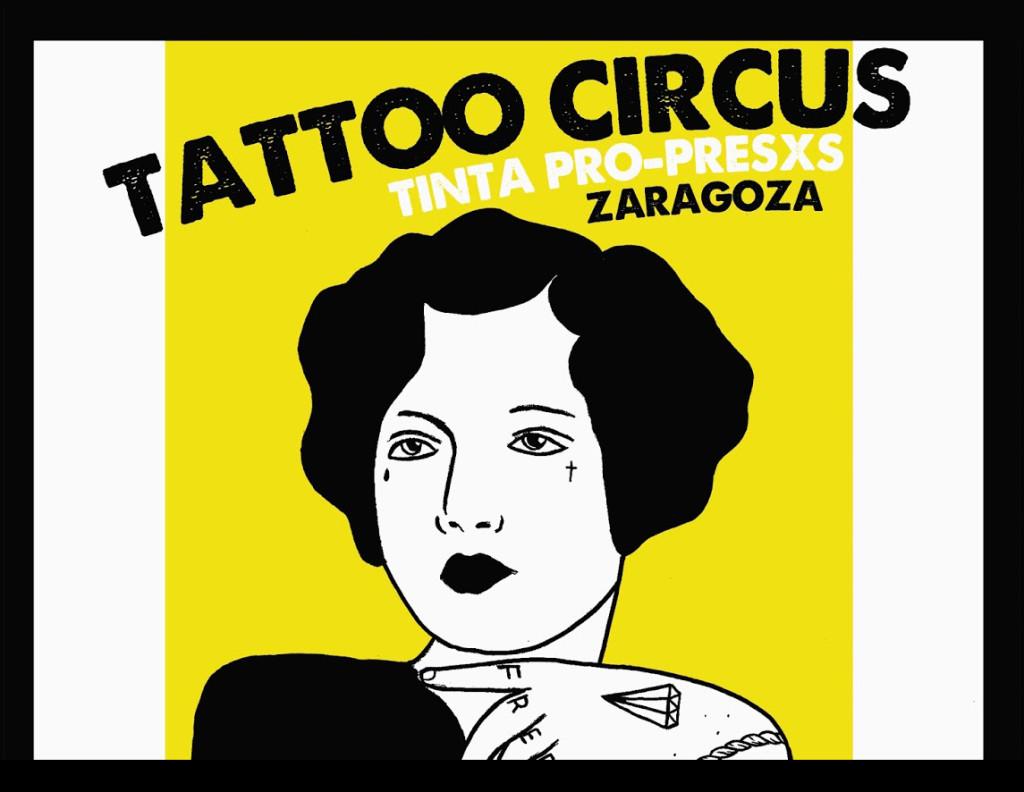 Vuelve la tinta solidaria al Tattoo Circus de Zaragoza