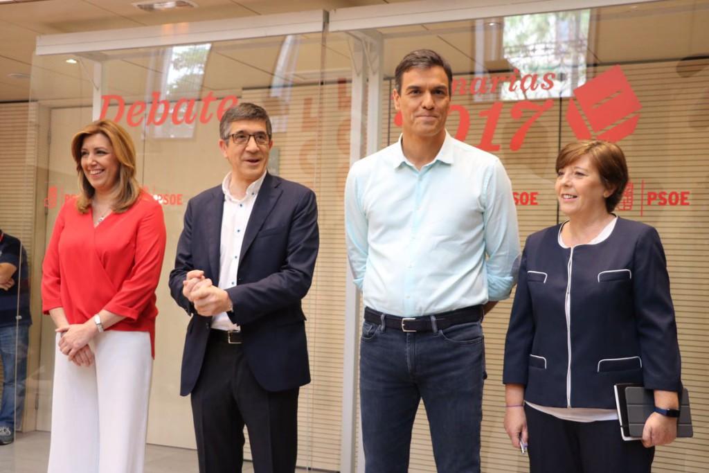 Debate de egos en el PSOE