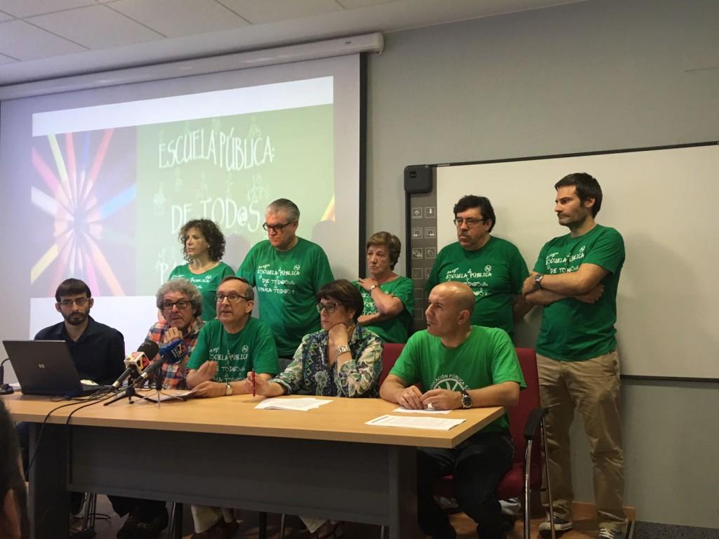"""La Plataforma por la Defensa de la Escuela Pública solicita al TSJA que las medidas cautelares dictadas """"no deben ser la norma"""""""