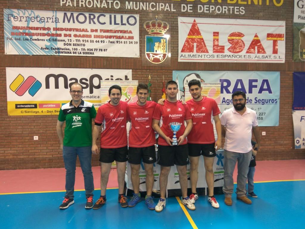Publimax CAI Santiago asciende a Primera División Estatal