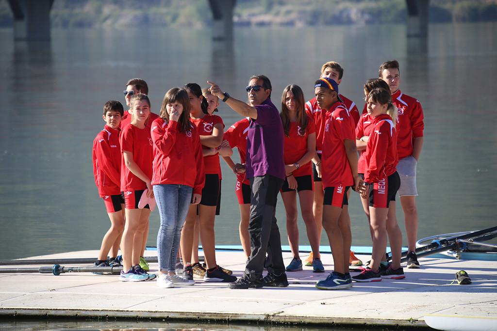 El Capri Club de Mequinensa participa en el XXV Copa Primavera de Remo que se disputará en Asturies